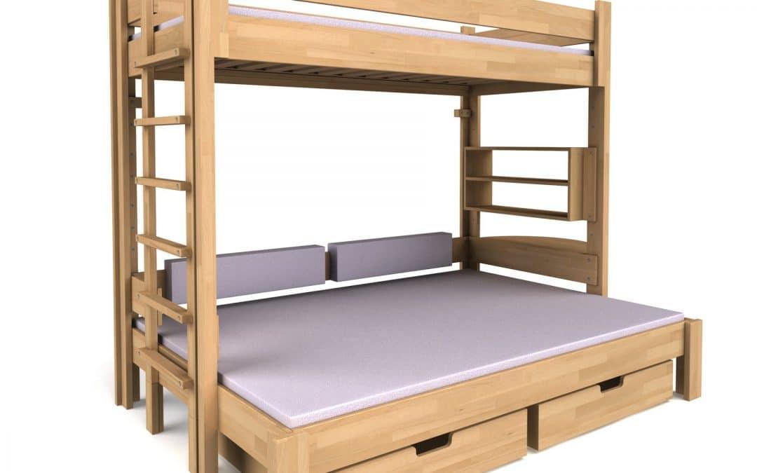 """""""豪华型双层床""""– Debe.Destyle 系列新款床型"""